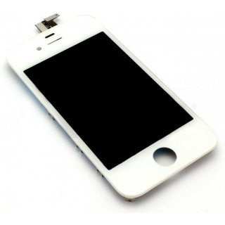 Iphone 4 LCD Display mit Touchscreen / Digitizer Frontscheibe Weiss A++ Version