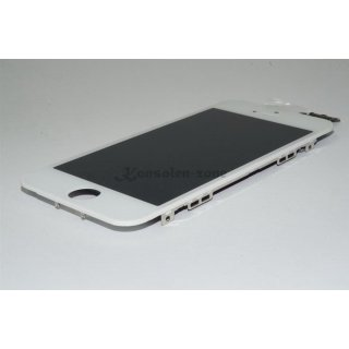 Iphone 5 LCD A++ Display weiss Touchscreen Glas Retina Digitizer Komplett set