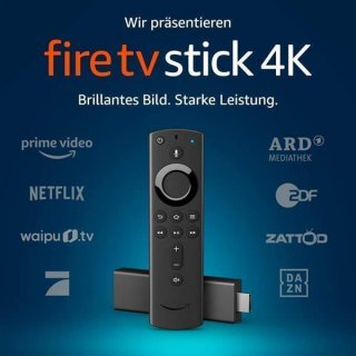 Amazon Fire TV Stick 4K Ultra HD mit der neuen Alexa-Sprachfernbedienung