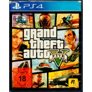 Grand Theft Auto V GTA 5 PS4 Playstation 4 gebraucht Deutsche Version Uncut