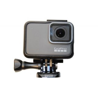 GoPro HERO7 Silver Action-Kamera 12 MP + 32GB Micro SD Karte + Handgriff