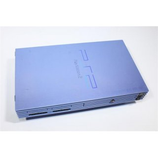Sony Playstation 2 PS 2 Konsole Aqua Blue Blau SCPH-50004