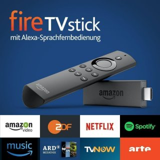 Amazon Fire TV Stick V2 KODi 17.6 + Vavoo Alexa Sprachfernbedienung Jailbreak Megapaket