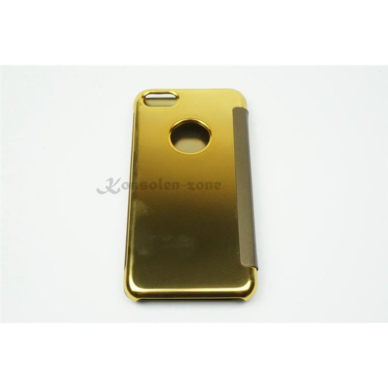 iphone 7 4 7 led view flip case tasche gold cover. Black Bedroom Furniture Sets. Home Design Ideas