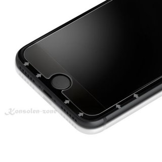 Apple iPhone 7+ / 7 / 8 Plus & Schutzglas + Silikon Hülle 9H Folie Displayfolie Clear Echt Glas Panzerfolie