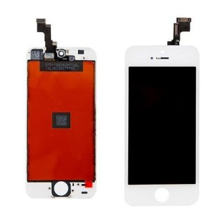 Iphone 4S LCD Display mit Touchscreen / Digitizer Frontscheibe Weiss A++Version