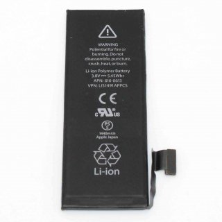 iPhone 5 Akku Ersatz für original Accu Batterie Battery 0 cycle APN 616-0613