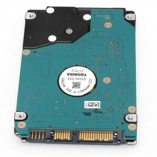 Toshiba MK5061GSY HDD2F52  500GB SATA II 2,5 Zoll 7200 RPM Notebook Laptop Festplatte PS4 PS4 HDD