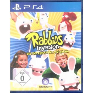 Rabbids Invasion - Die interaktive TV-Show - PlayStation4 | PS4 | gebraucht