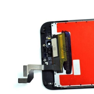 LCD Display Retina für iPhone 6S+ Plus Glas Scheibe Komplett Front schwarz