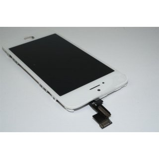 Iphone 5C LCD A++ Display weiss Touchscreen Glas Retina Digitizer Komplett set + 8in1 Öffner Kit